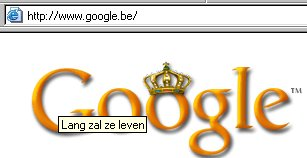 "De afbeelding ""http://lvb.net/media/1/20030430-google-koninginnedag.jpg"" kan niet vertoond worden, omdat ze fouten bevat."